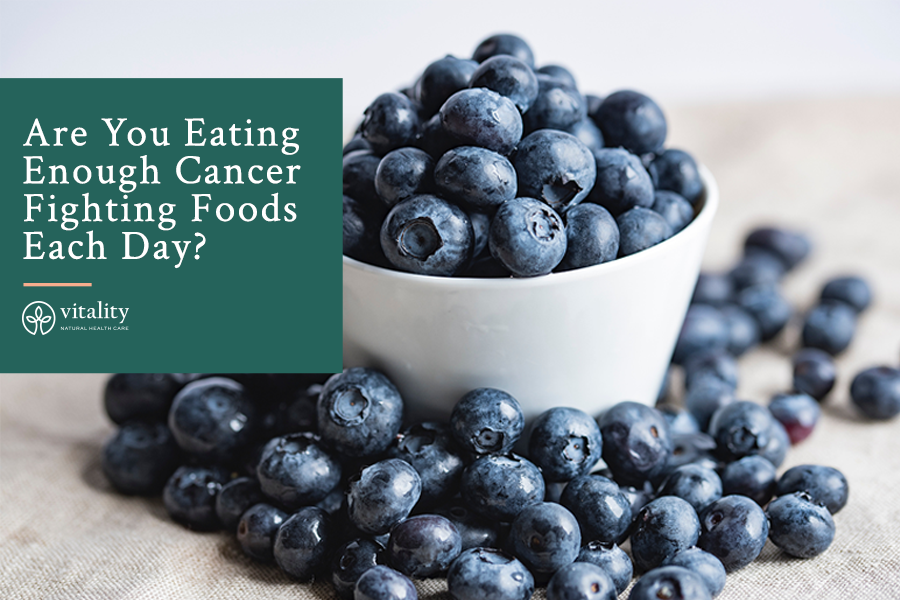 Are You Eating Enough Cancer Fighting Foods Each Day?
