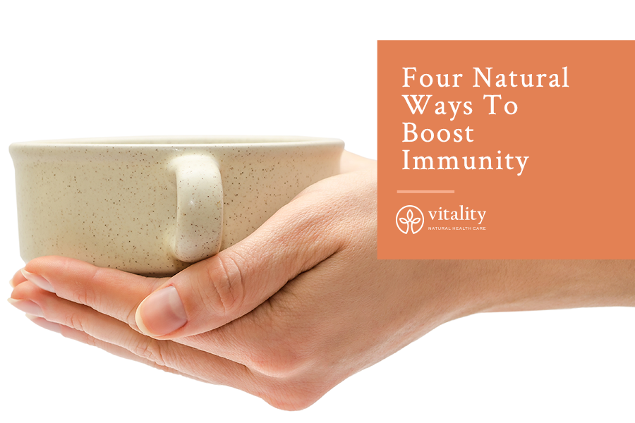 Four Natural Ways To Boost Immunity