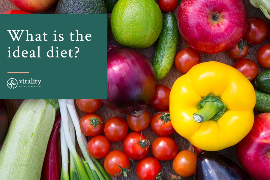 What is the ideal diet?