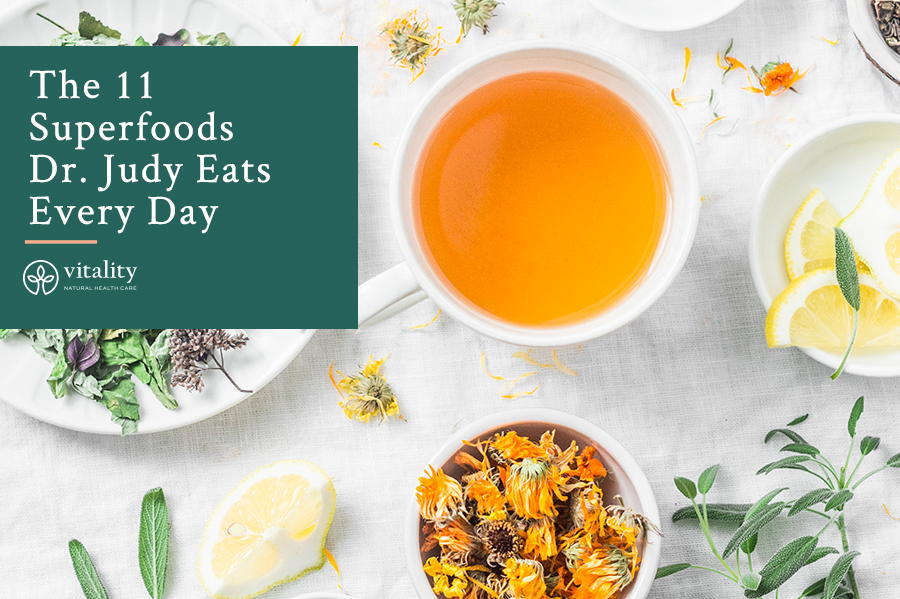 The 11 Superfoods Dr. Judy Eats Every Day