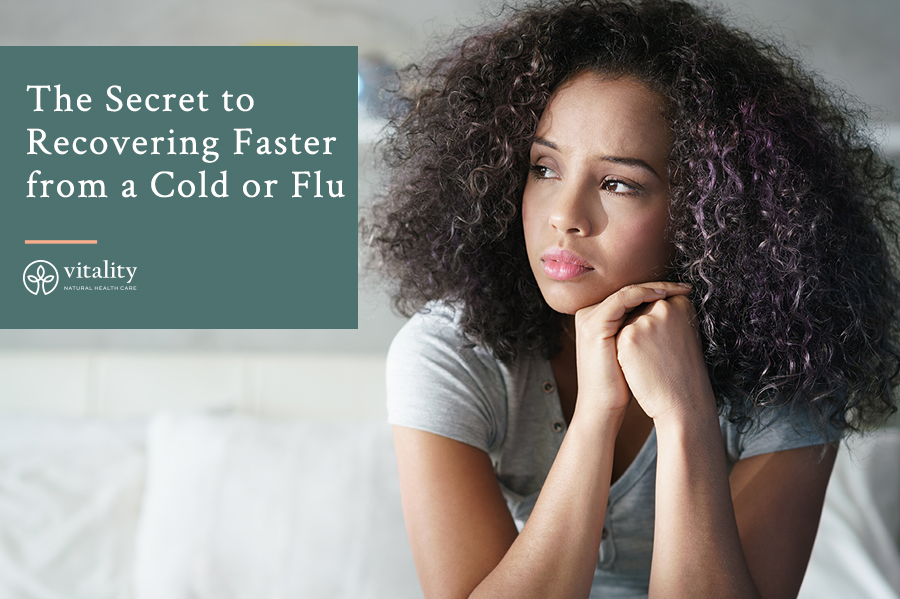 The Secret to Recovering Faster from a Cold or Flu