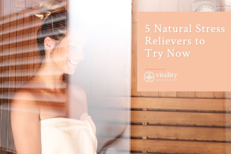5 Natural Stress Relievers to Try Now